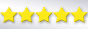 five review stars